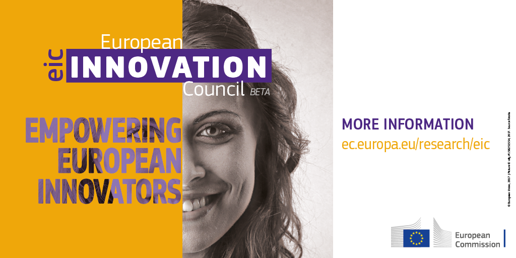 A banner image of the european innovation council