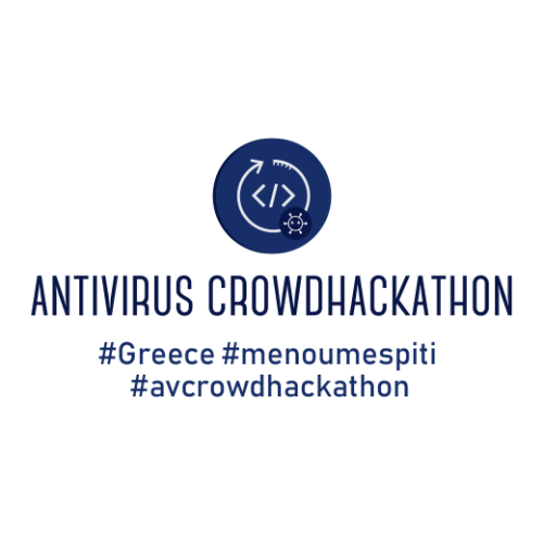 Logo of the 'Antivirus Crowd Hack Greece'