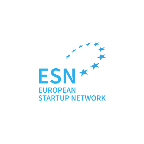 Logo of the 'European Startup Network'