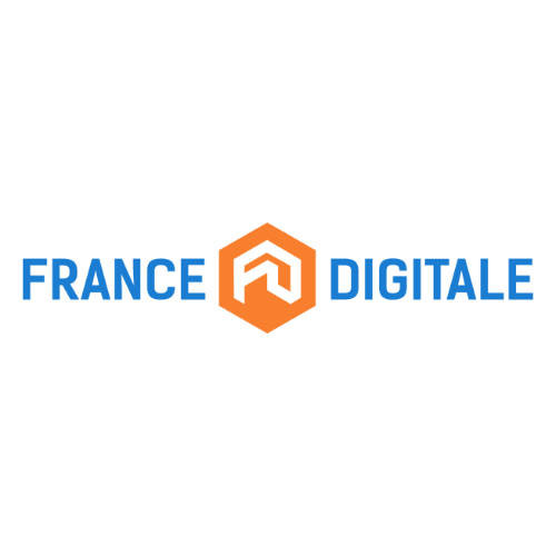 Logo of 'France Digital'