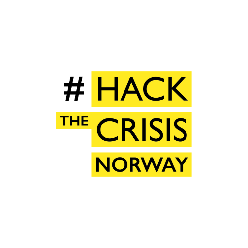 Logo of 'Hack the Crisis Norway'