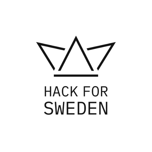 Logo of 'Hack for Sweden'