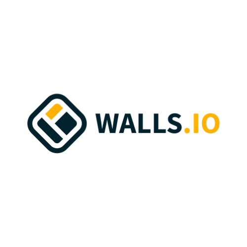 Logo of the company 'wall.io'