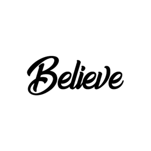 Logo of the company 'Believe'
