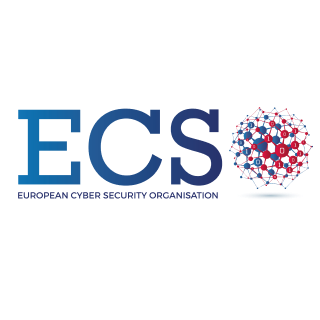 Logo of the 'European Cyber Security Organisation'
