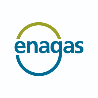 Logo of the company 'Enagas'