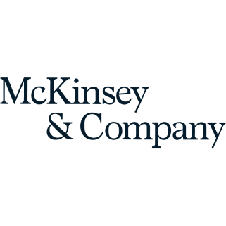 Logo of the company 'McKinsey'