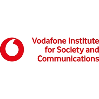 Logo of the company 'Vodafone Institute for Society and Communications'
